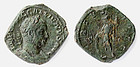 Roman Coin: Rare condition Gallienus sestertius