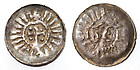 Rare medieval / Viking denaro, denar pfennig, 900 AD!!