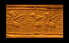 Beautyful Mesopotamian faiance cylinder seal!