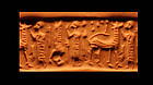 Rare Syrian cylinder seal - early 2nd. mill BC