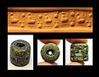 Superb Mesopotamian Jemdet Nasr cylinder seal - gem!!