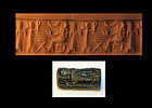 Scarce Old Assyrian cylinder seal, 2000-1600 BC
