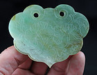 Exceptional Chinese jade carving plaque, Qing Dynasty