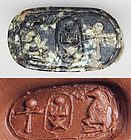 Rare Egyptian hard stone seal ring - Thutmose III!