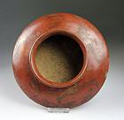 Very rare Pre-columbian Narino pottery discus vessel!