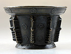 Rare French Lyons bronze mortar, c. 1550-1580