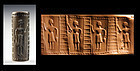 Indus Valley limestone cylinder seal, 2nd. mill BC