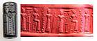 Old Assyrian hematite Cylinder seal, 1800�1650 B.C