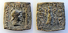 Indo-Greek Kingdom. Menander I. 165/55-130 BC. � Quadruple