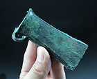 Choice Bronze Age Looped and Socketed Axe Head