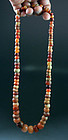 Pre-Columbian Tairona Carnelian bead collection necklace!