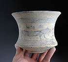 High Quality large Indus Valley / Bactria pottery bassin!