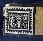 Pre Columbian Peruvian textile, pre 900 AD!