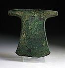 Rare Egyptian Bronze Axe, 9th-10th Dynasty, c. 2160-2050 B.C.