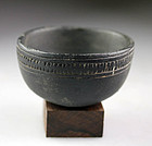 Finely engraved Bactrian Chlorite stone drinking cup!