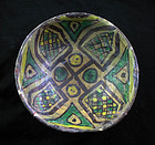 Islamic pottery bowl, Western-central Asia, ca. 10th-11th. cent.