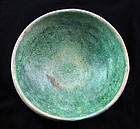 Nice Islamic pottery bowl, 11th.-12th. century AD