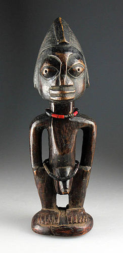Choice antique African Nigeria Yoruba culture figure!