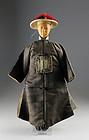 Rare Manchu / Qing Dynasty Chinese doll!