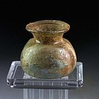 Finely made Roman glass jar, found in Hama 1958, Peslagh Collection