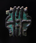 Egypt, double amulet of Taweret / Thoeris figure in faiance!
