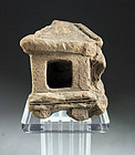 Ancient Javanese Funerary pottery model of house!