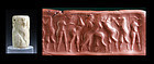 Large Early Dynastic Mesopotamian Marble cylnder seal!