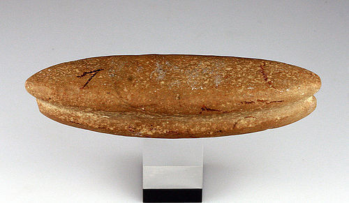 Beautiful large tool for weaving, Danish late Stoneage / Bronzeage!