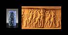 High quality Mesopotamia Akkadian Lapis Lazuli cylinder seal!