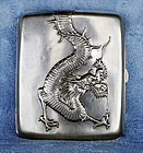 Chinese Export Dragon-Silver Wing Nam & Co Cigarette Box 1890