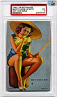 "1945 Mutoscope ""NICE TO HOOK UP WITH"" - HOTCHA GIRLS - PSA EX 5"
