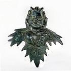 Bronze Roman God of Wine - Dionysus - Bacchus - C. 1st - 3rd Century