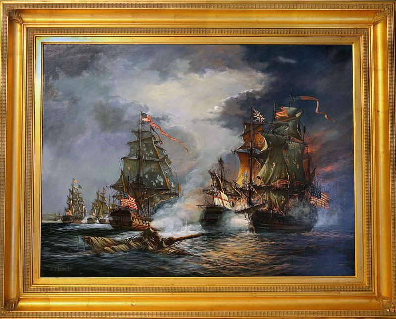 Orlinski, A.A, USS Bonhomme Richard and the Battle of Flamborough Head