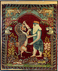Antique Persian Rug King Darius-Persia Persepolis-63 cm x 80 cm-1800