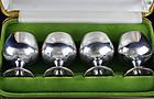 Gorham Set of 4 Cordial Shots Goblets Cups Sterling Silver HM 955