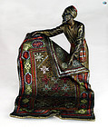 Franz Xaver Bergman Style 'Carpet Seller' Cold Painted Vienna Bronze