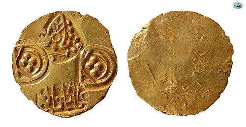 INDIA. VIDARBHA. JAGADEVA. 12TH CENT. AD. AV PAGODA COIN
