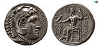 KINGS OF MACEDON ALEXANDER III, 336-323 BC SILVER AMPHIPOL COIN