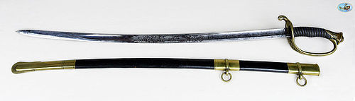 Wonderful Civil War U.S. Model 1850 Foot Officer's Sword