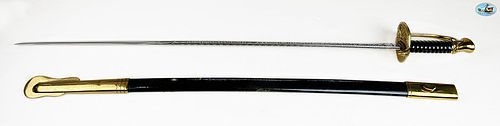 Inscribed U.S. Marine Corps Non-Commissioned Officer's Sword