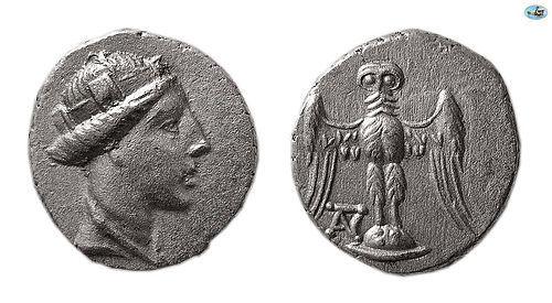 PONTOS, AMISOS. 3RD-2ND CENTURIES BC. AR SIGLOS Coin