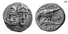MOESIA, ISTROS. CA. 4TH. CENTURY BC. MOESIA, ISTRO