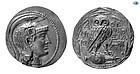 ATTICA, ATHENS. CIRCA 165-42 BC. SILVER TETRADRACHM COIN