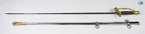 Pristine U.S. Model 1860 Staff & Field Officer's Sword