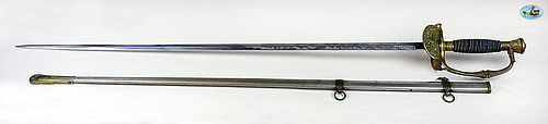 Fantastic U.S. Model 1860 Staff & Field Officer's Sword