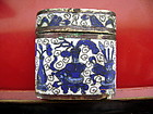 Chinese Oblong Antique QING Dynasty Cloisonne OPIUM Box