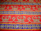 Indonesian Ceremonial Fabric Hand embroidered Brocade