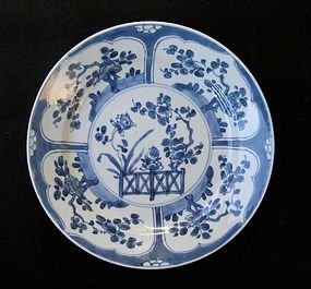 Very fine KANGXI Chinese Blue & White Plate