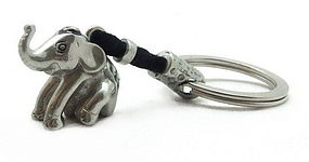 Pewter ELEPHANT Key Chain