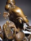 Finest GANESH Bronze Sculpture, India, 18th Century